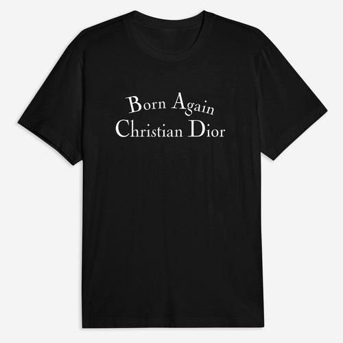 Born Again Christian Tee - Black