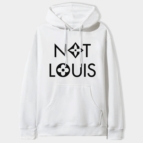 Not Louis Hoodie in White