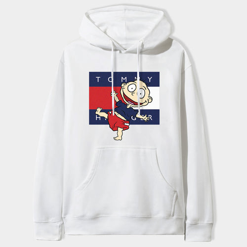 Tommy Pickles Hoodie in White