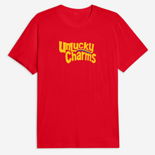 Load image into Gallery viewer, Unlucky Charms Tee in Red