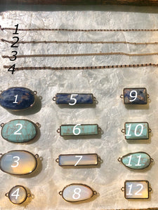 Personalize Your Stone Necklace