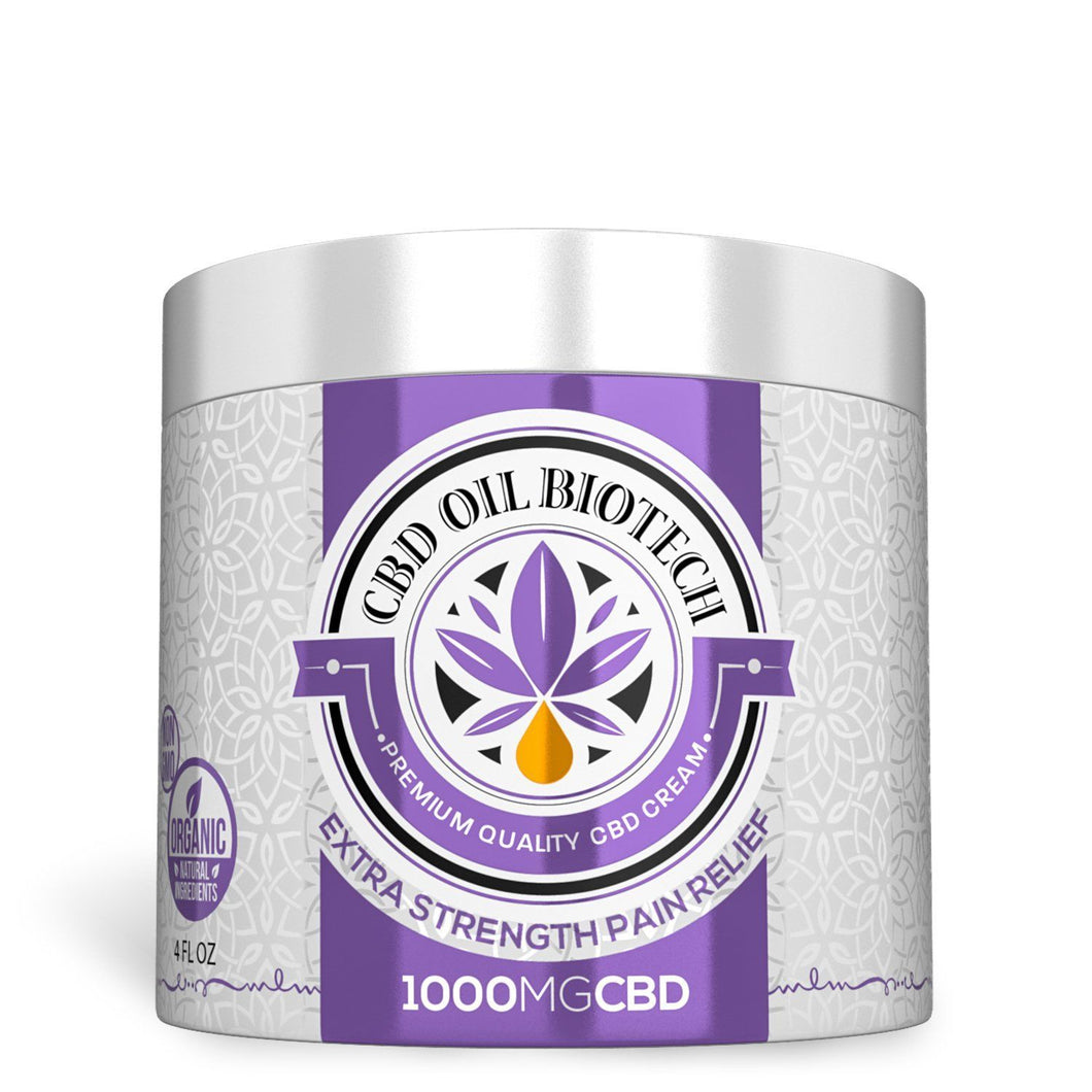 Biotech CBD Cream 1000mg