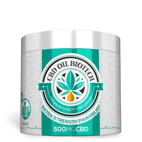 Biotech CBD Cream - 500mg