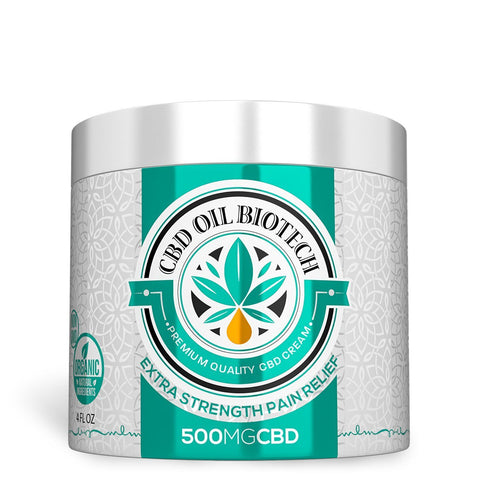 Biotech CBD Cream 500mg