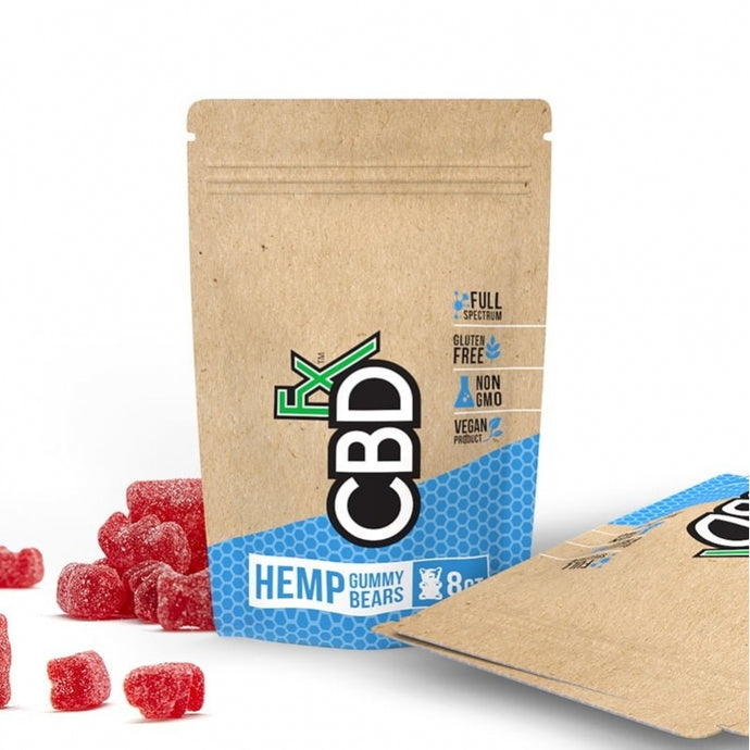 CBDfx Hemp Vegan Gummies Pouch - 40mg CBD