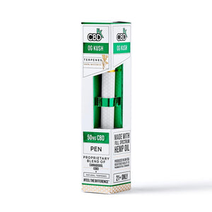 CBDfx CBD Disposable Terpene Vape Pen OG Kush - 50mg