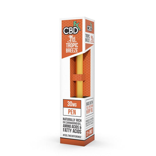 CBDfx CBD vape disposable pen 30mg - tropic breeze