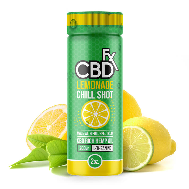 CBDfx chill shot - lemonade flavour