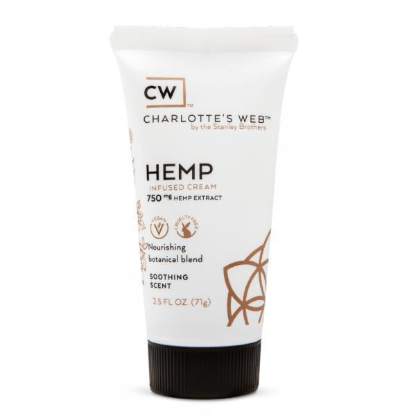 Charlottes Web CBD Soothing Scent Infused Cream - 2.5oz