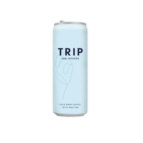 12 x TRIP 15mg CBD Infused Cold Brew Coffee Drink 250ml