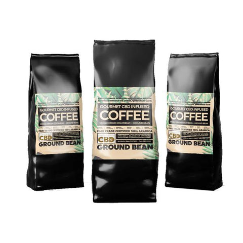 Equilibrium CBD Gourmet Ground CBD Coffee Bulk 2.27kg Bag