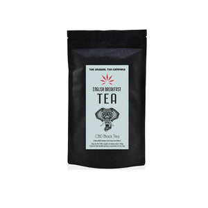 The Unusual Tea Company 3% CBD Hemp Tea - English Breakfast 40g