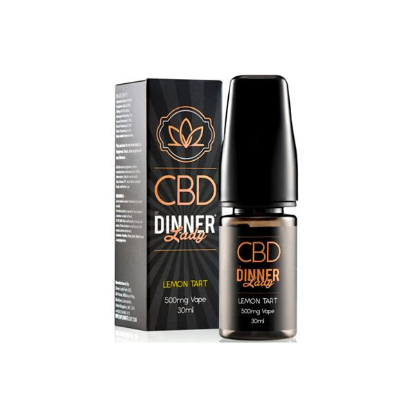 Dinner Lady 500mg CBD 30ml E-Liquid (70VG/30PG)