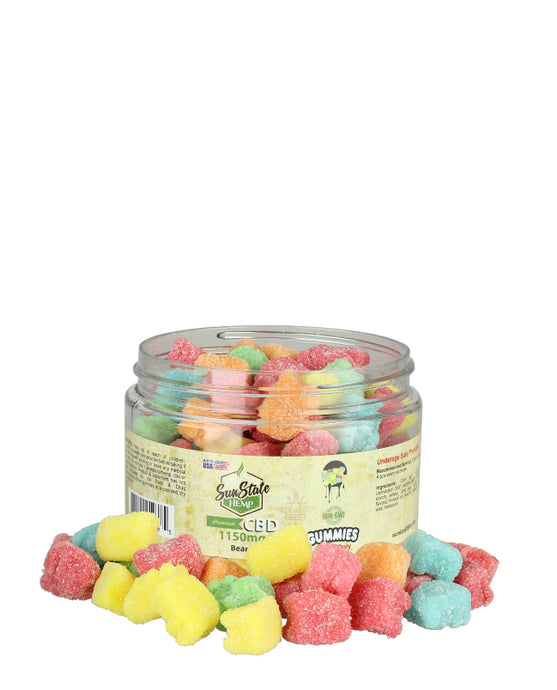 Sun State Hemp CBD Gummy Bears - 1500mg