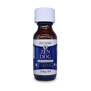 ZenPaw CBD Hemp Oil For Dogs - 150mg (Medium Breed)