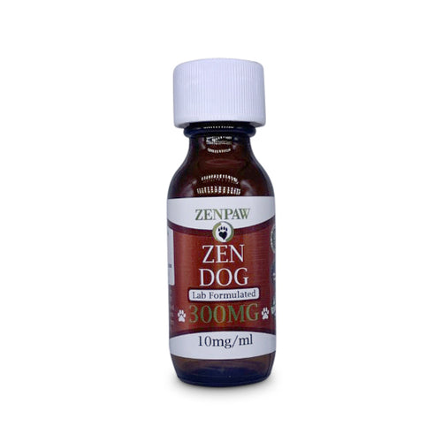 ZenPaw CBD Hemp Oil For Dogs - 300mg (Large Breed)