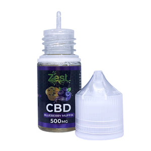 ZestCBD Blueberry Muffin CBD E Liquid - 500MG/30ML