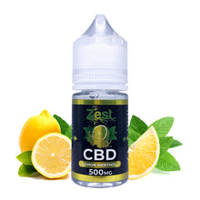ZestCBD Lemon Menthol CBD E Liquid - 500MG/1000MG - 30ML