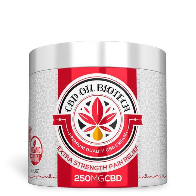 biotech cbd cream 250mg
