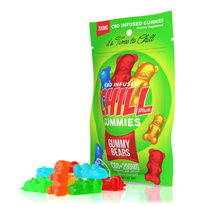 Chill Plus Gummies - CBD Gummy Bears - 200mg