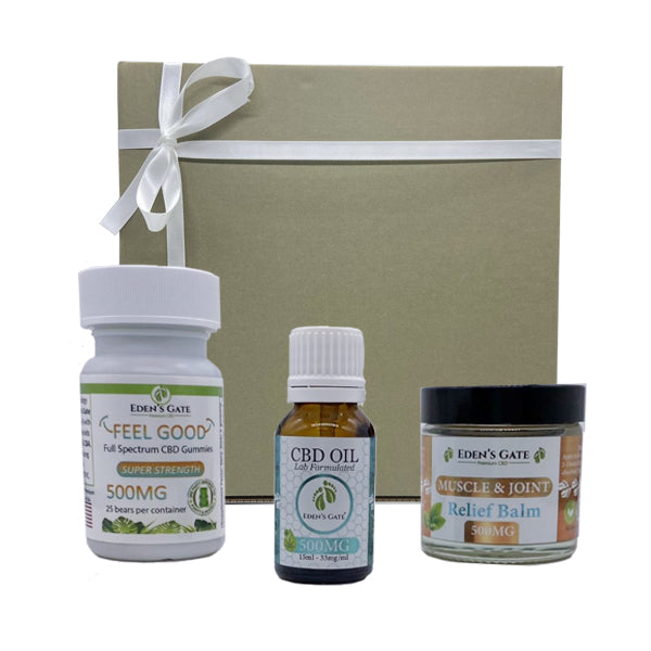 Eden's Gate - Pro CBD Bundle Gift Box