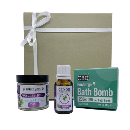 Eden's Gate - Relief Pro CBD Bundle Gift Box