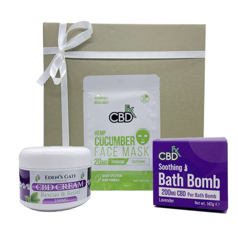 Eden's Gate - Pure BEAUTY CBD Gift Box Bundle