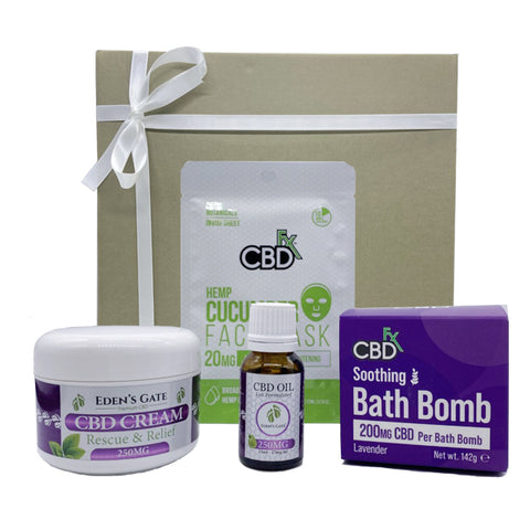 Eden's Gate - Pure BEAUTY MAX CBD Gift Box Bundle
