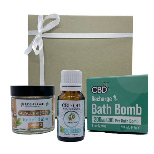 Eden's Gate - RELIEF Pro Max CBD Gift Box Bundle