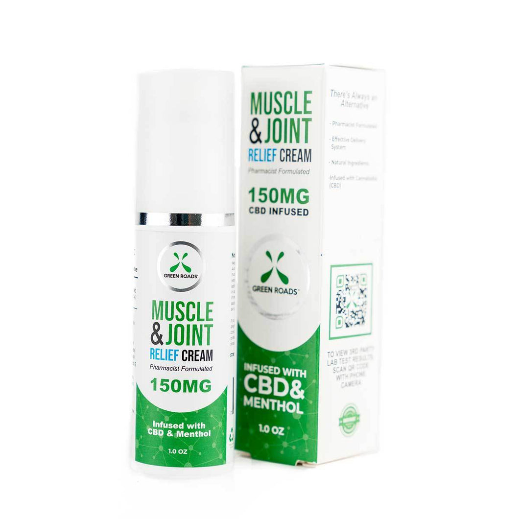 Green Roads CBD Muscle & Joint Cream - 150mg