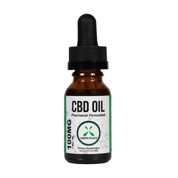 Green Roads Broad Spectrum CBD Oil 100mg - 15ml