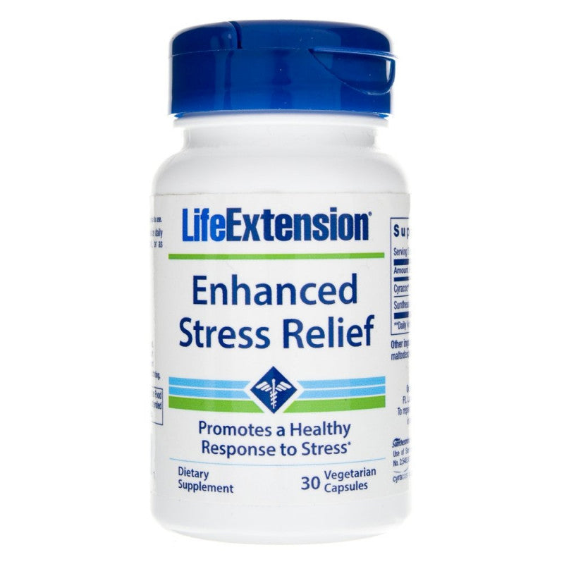 Life Extension - Enhanced Stress Relief - 30 Capsules