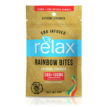 Relax Gummies CBD Rainbow Bites - 100mg