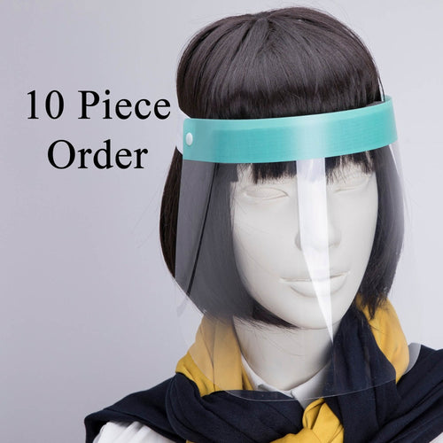 10 Pieces Face Shields - saracleather