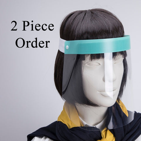2 Pieces Face Shields - saracleather