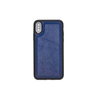 "Flex Cover Leather Case for iPhone XS Max (6.5"") - BLUE - saracleather"