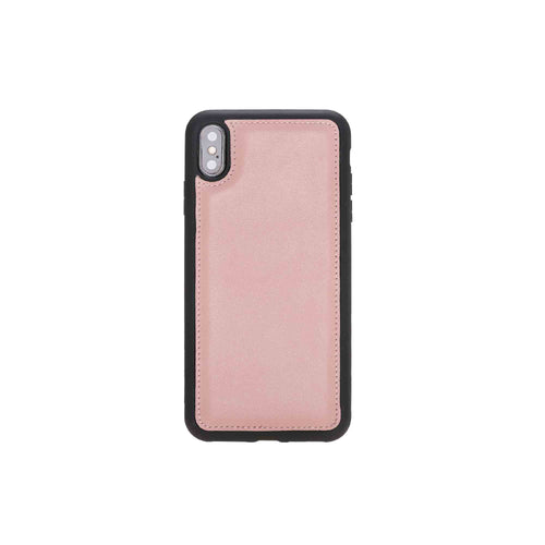 "Flex Cover Leather Case for iPhone XS Max (6.5"") - PINK - saracleather"