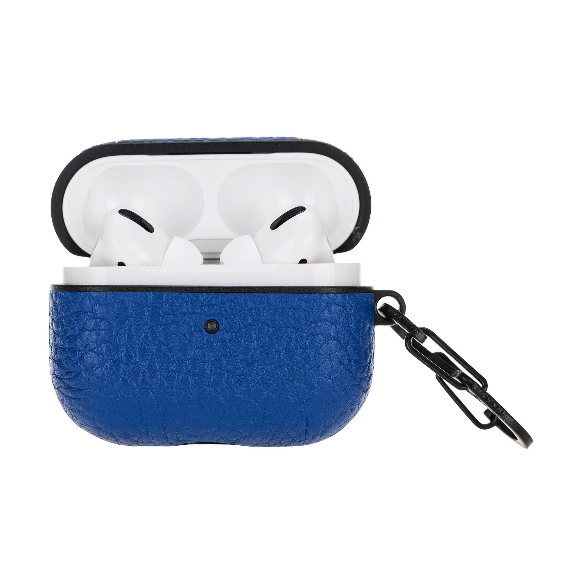 Juni Leather Capsule Case for AirPods Pro - BLUE - saracleather