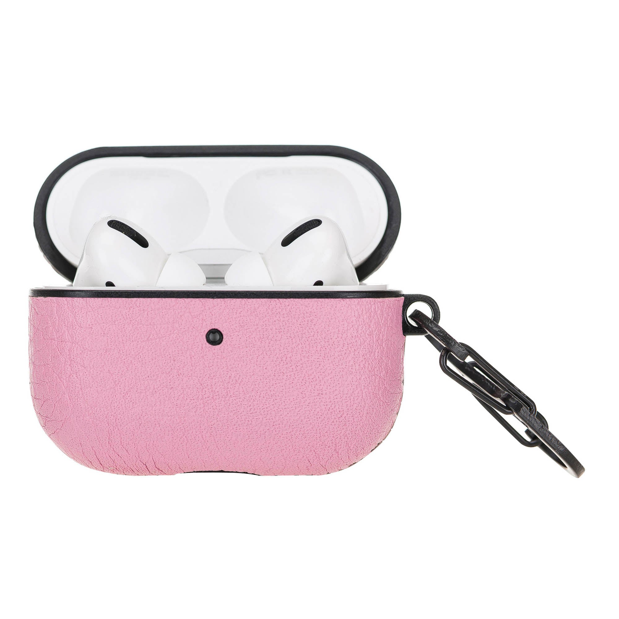 Juni Leather Capsule Case for AirPods Pro - PINK - saracleather