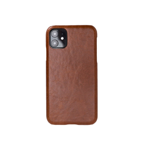 "Ultimate Jacket Leather Phone Case for iPhone 11 (6.1"") - TAN - saracleather"