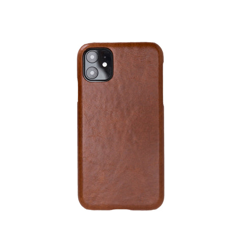 "Ultimate Jacket Leather Phone Case for iPhone 11 (6.1"") - TAN"