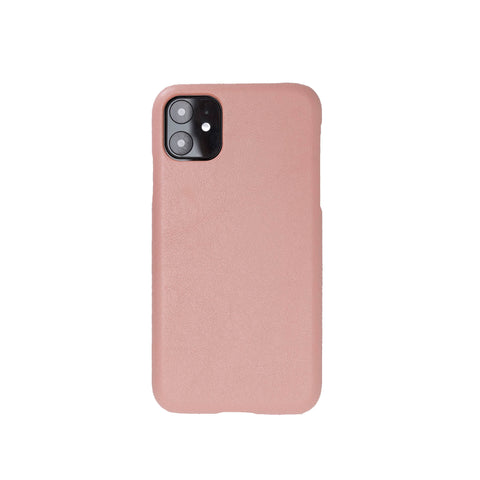"Ultimate Jacket Leather Phone Case for iPhone 11 (6.1"") - PINK - saracleather"