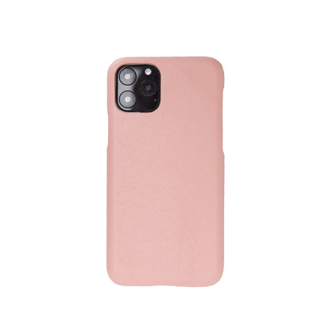 "Ultimate Jacket Leather Phone Case for iPhone 11 Pro (5.8"") - PINK - saracleather"