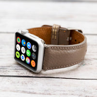 Full Grain Leather Band for Apple Watch 38mm / 40mm - MINK - saracleather