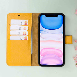 Magic Magnetic Detachable Leather Wallet Case for iPhone 11 (6.1