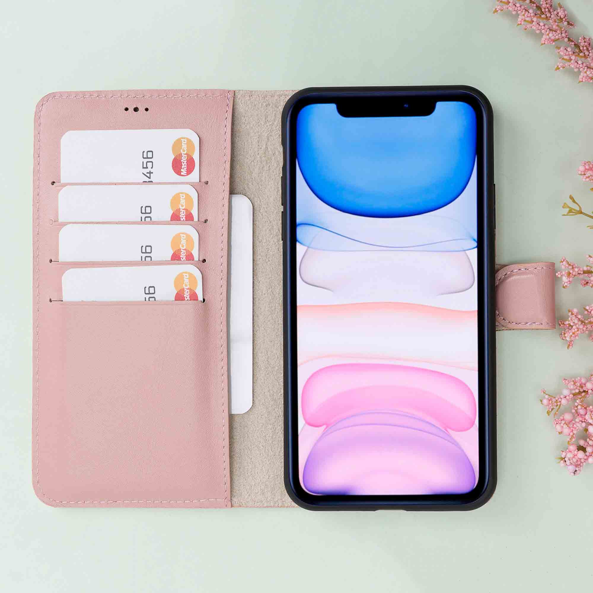 Magic Magnetic Detachable Leather Wallet Case for iPhone 11 Pro Max (6.5