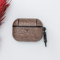 Juni Leather Capsule Case for AirPods Pro - MINK - saracleather