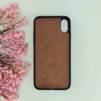 "Flex Cover Leather Case for iPhone XS Max (6.5"") - BROWN - saracleather"