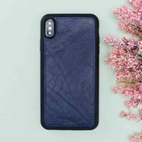 "Magic Magnetic Detachable Leather Wallet Case for iPhone XS Max (6.5"") - BLUE - saracleather"