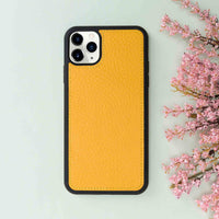 "Magic Magnetic Detachable Leather Wallet Case for iPhone 11 Pro Max (6.5"") - YELLOW - saracleather"